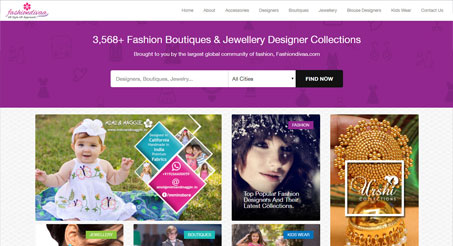 Fashion Designers Boutiques and Jewellery Designers