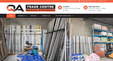QA Trade Centre is one of the best and leading suppliers to tilers