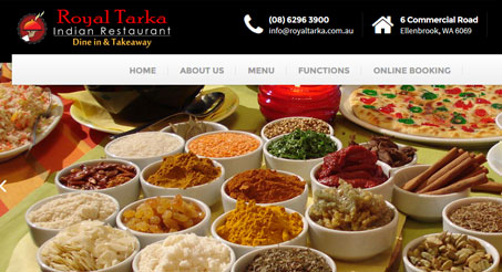 Royal Tarka is one of Perth best Indian Restaurants